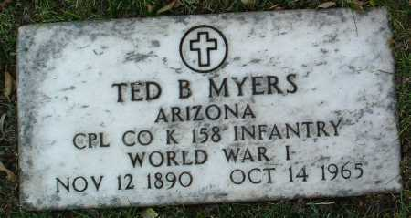 MYERS, TED B. - Yavapai County, Arizona | TED B. MYERS - Arizona Gravestone Photos