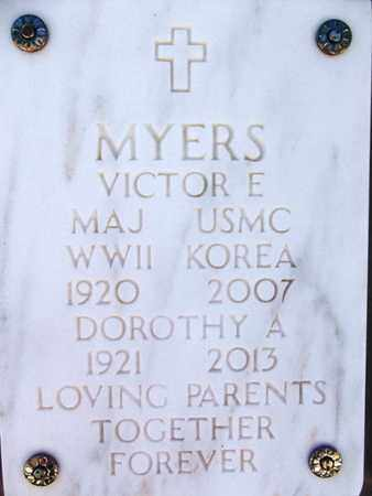 MYERS, VICTOR EARL - Yavapai County, Arizona | VICTOR EARL MYERS - Arizona Gravestone Photos