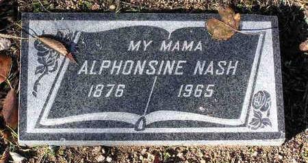NASH, ALPHONSINE - Yavapai County, Arizona | ALPHONSINE NASH - Arizona Gravestone Photos