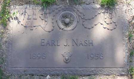 NASH, EARL J. - Yavapai County, Arizona | EARL J. NASH - Arizona Gravestone Photos