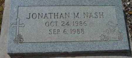NASH, JONATHAN MICHAEL - Yavapai County, Arizona   JONATHAN MICHAEL NASH - Arizona Gravestone Photos