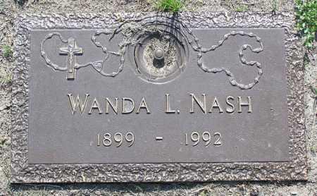 NASH, WANDA L. - Yavapai County, Arizona | WANDA L. NASH - Arizona Gravestone Photos