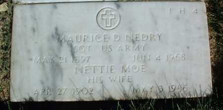 NEDRY, NETTIE MOE - Yavapai County, Arizona | NETTIE MOE NEDRY - Arizona Gravestone Photos
