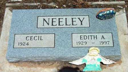 NEELEY, EDITH A. - Yavapai County, Arizona | EDITH A. NEELEY - Arizona Gravestone Photos