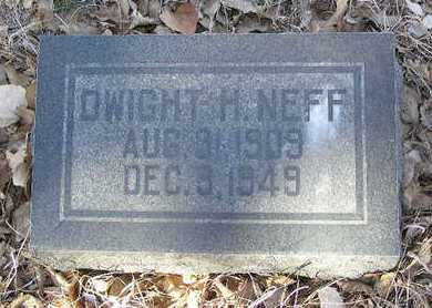 NEFF, DWIGHT H. - Yavapai County, Arizona | DWIGHT H. NEFF - Arizona Gravestone Photos