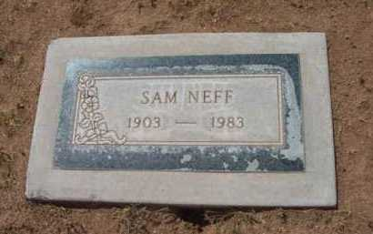 NEFF, SAMUEL HUSTON - Yavapai County, Arizona | SAMUEL HUSTON NEFF - Arizona Gravestone Photos