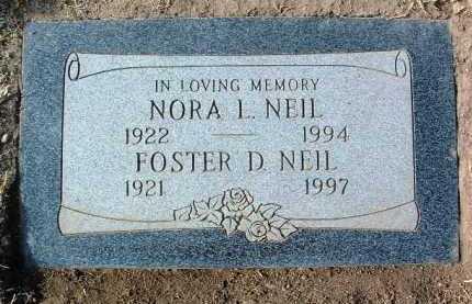 ATKINS NEIL, NORA LUCILLE - Yavapai County, Arizona   NORA LUCILLE ATKINS NEIL - Arizona Gravestone Photos