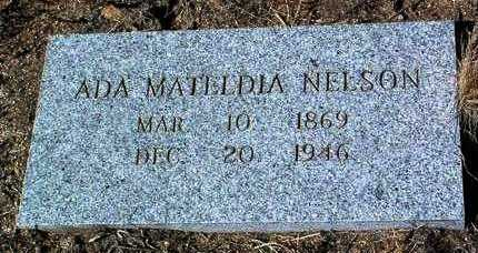 LAVENDER NELSON, ADA M. - Yavapai County, Arizona | ADA M. LAVENDER NELSON - Arizona Gravestone Photos