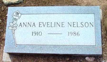 NELSON, ANNA EVELINE - Yavapai County, Arizona | ANNA EVELINE NELSON - Arizona Gravestone Photos