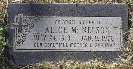 NELSON, ALICE MARIA - Yavapai County, Arizona | ALICE MARIA NELSON - Arizona Gravestone Photos