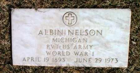 NELSON, ALBIN - Yavapai County, Arizona   ALBIN NELSON - Arizona Gravestone Photos
