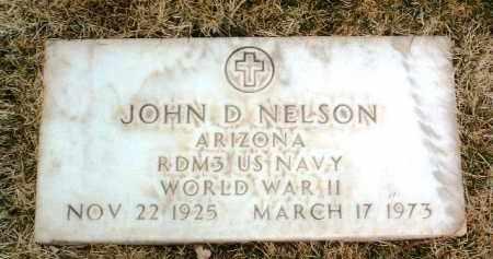 NELSON, JOHN DAVID - Yavapai County, Arizona | JOHN DAVID NELSON - Arizona Gravestone Photos