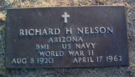 NELSON, RICHARD HANS - Yavapai County, Arizona | RICHARD HANS NELSON - Arizona Gravestone Photos