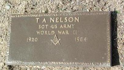 NELSON, T. A. (TED) - Yavapai County, Arizona   T. A. (TED) NELSON - Arizona Gravestone Photos