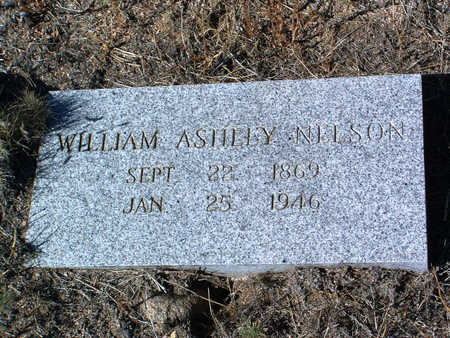 NELSON, WILLIAM ASHLEY - Yavapai County, Arizona | WILLIAM ASHLEY NELSON - Arizona Gravestone Photos