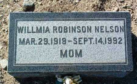 NELSON, WILLMIA - Yavapai County, Arizona   WILLMIA NELSON - Arizona Gravestone Photos
