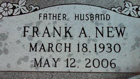 NEW, FRANK ARTHUR - Yavapai County, Arizona | FRANK ARTHUR NEW - Arizona Gravestone Photos