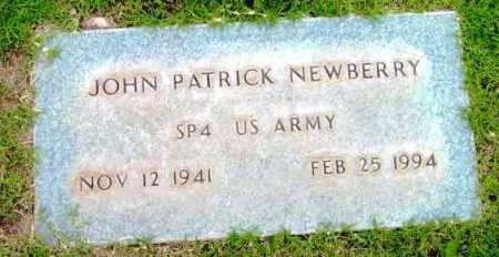 NEWBERRY, JOHN PATRICK - Yavapai County, Arizona | JOHN PATRICK NEWBERRY - Arizona Gravestone Photos