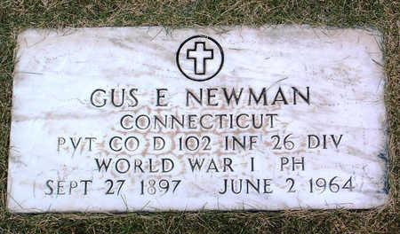 NEWMAN, GUS  EMIL - Yavapai County, Arizona | GUS  EMIL NEWMAN - Arizona Gravestone Photos