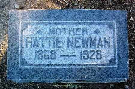 NEWMAN, HATTIE - Yavapai County, Arizona | HATTIE NEWMAN - Arizona Gravestone Photos