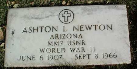 NEWTON, ASHTON LEROY - Yavapai County, Arizona   ASHTON LEROY NEWTON - Arizona Gravestone Photos