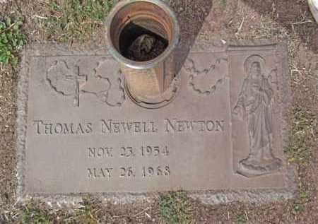 NEWTON, THOMAS NEWELL - Yavapai County, Arizona | THOMAS NEWELL NEWTON - Arizona Gravestone Photos