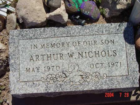 NICHOLS, ARTHUR W. - Yavapai County, Arizona   ARTHUR W. NICHOLS - Arizona Gravestone Photos
