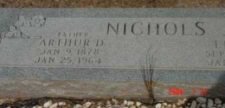 NICHOLS, ARTHUR DUDLEY - Yavapai County, Arizona | ARTHUR DUDLEY NICHOLS - Arizona Gravestone Photos