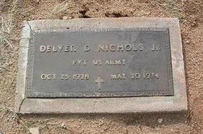 NICHOLS, DELVER DEAN, JR. - Yavapai County, Arizona | DELVER DEAN, JR. NICHOLS - Arizona Gravestone Photos