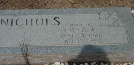 NICHOLS, FRANCES EDNA - Yavapai County, Arizona   FRANCES EDNA NICHOLS - Arizona Gravestone Photos