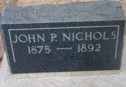NICHOLS, JOHN P. - Yavapai County, Arizona | JOHN P. NICHOLS - Arizona Gravestone Photos