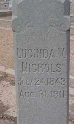 ROACH NICHOLS, LUCINDA - Yavapai County, Arizona | LUCINDA ROACH NICHOLS - Arizona Gravestone Photos