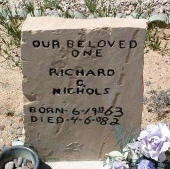 NICHOLS, RICHARD C. - Yavapai County, Arizona   RICHARD C. NICHOLS - Arizona Gravestone Photos