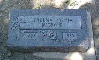 PETERSON, THELMA SYLVIA - Yavapai County, Arizona | THELMA SYLVIA PETERSON - Arizona Gravestone Photos
