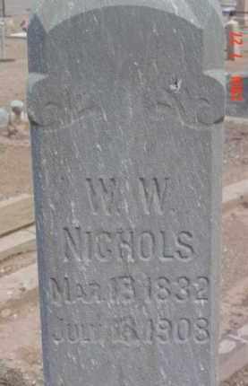 NICHOLS, WILLIAM W. - Yavapai County, Arizona | WILLIAM W. NICHOLS - Arizona Gravestone Photos