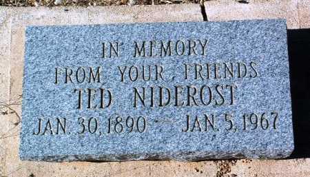 NIDEROST, TED - Yavapai County, Arizona | TED NIDEROST - Arizona Gravestone Photos