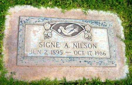 NILSON, SIGNE A. - Yavapai County, Arizona | SIGNE A. NILSON - Arizona Gravestone Photos