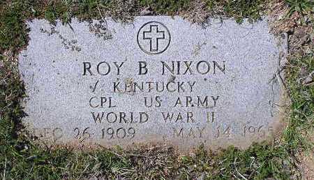 NIXON, ROY B. - Yavapai County, Arizona | ROY B. NIXON - Arizona Gravestone Photos