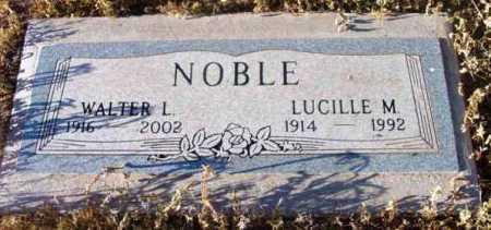 NOBLE, LUCILLE M. - Yavapai County, Arizona | LUCILLE M. NOBLE - Arizona Gravestone Photos