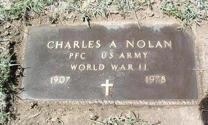 NOLAN, CHARLES A. - Yavapai County, Arizona | CHARLES A. NOLAN - Arizona Gravestone Photos