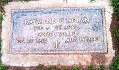 NOLAN, RAYMOND C. - Yavapai County, Arizona | RAYMOND C. NOLAN - Arizona Gravestone Photos