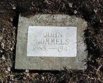 NOMMELS, JOHN - Yavapai County, Arizona | JOHN NOMMELS - Arizona Gravestone Photos