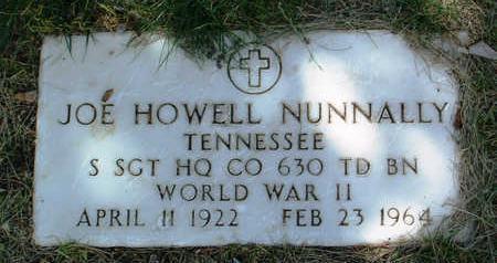 NUNNALLY, JOE HOWELL - Yavapai County, Arizona | JOE HOWELL NUNNALLY - Arizona Gravestone Photos