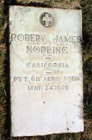 NORLING, ROBERT JAMES - Yavapai County, Arizona | ROBERT JAMES NORLING - Arizona Gravestone Photos