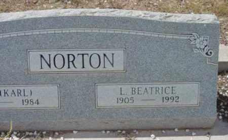 NORTON, BEATRICE LORENA - Yavapai County, Arizona | BEATRICE LORENA NORTON - Arizona Gravestone Photos