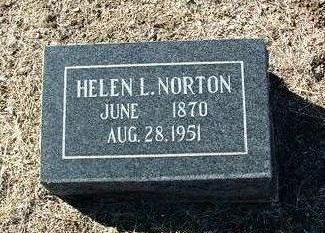 NORTON, HELEN LUCRETIA - Yavapai County, Arizona   HELEN LUCRETIA NORTON - Arizona Gravestone Photos