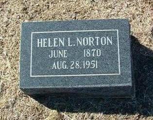 ALLEN NORTON, HELEN L. - Yavapai County, Arizona | HELEN L. ALLEN NORTON - Arizona Gravestone Photos
