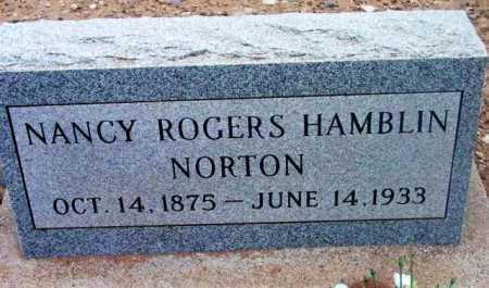 ROGERS NORTON, NANCY - Yavapai County, Arizona | NANCY ROGERS NORTON - Arizona Gravestone Photos
