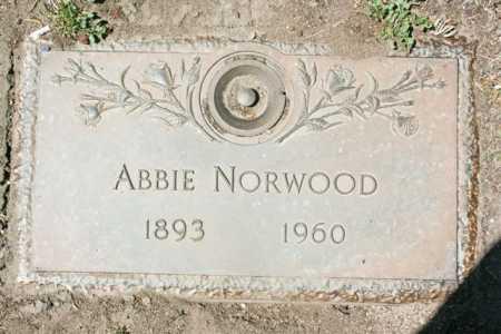 NORWOOD, ABBIE A. - Yavapai County, Arizona   ABBIE A. NORWOOD - Arizona Gravestone Photos