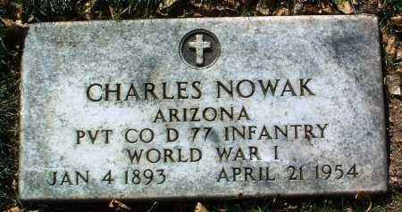 NOWAK, CHARLES - Yavapai County, Arizona | CHARLES NOWAK - Arizona Gravestone Photos